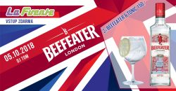 Beefeater Párty (2x Gin & Tonic 150,-)  - DJ Tom